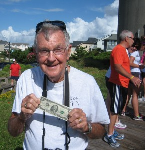 Bob Dick is the oldest person to climb our Lighthouse at the young age of 87 years and 7 months.