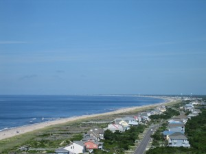 West all of Oak Island